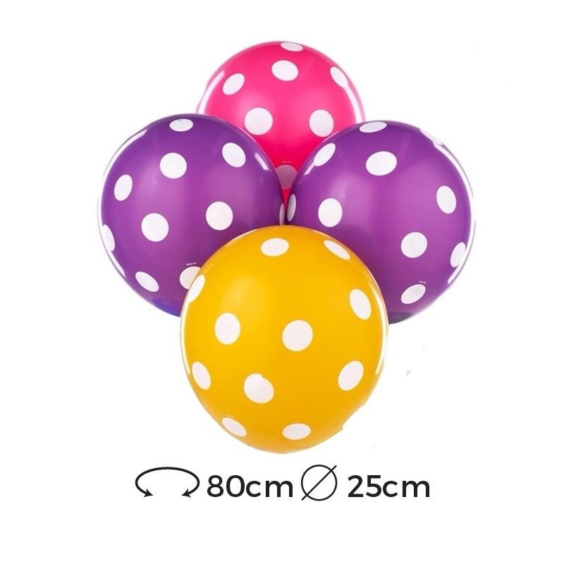 ballons-a-pois-latex-25-cm