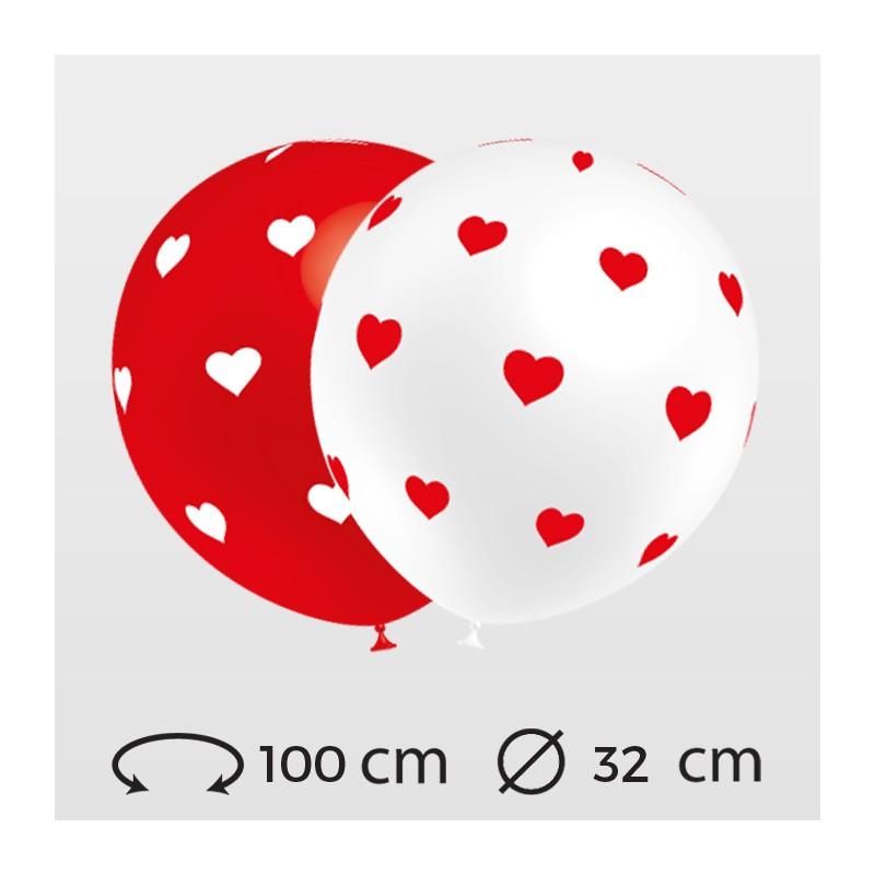 ballons-coeur-cools-ronds-32-cm